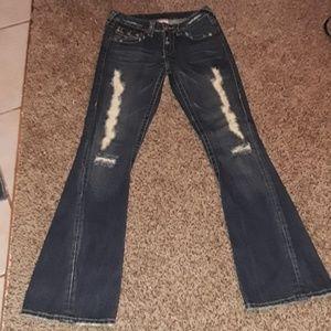 True Religion Distressed Jean's Size 26